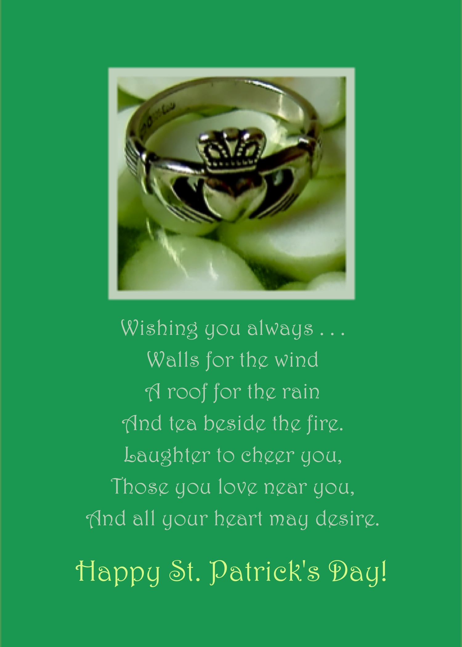 Irish Blessings For A Happy St Patricks Day Well Wishers Group