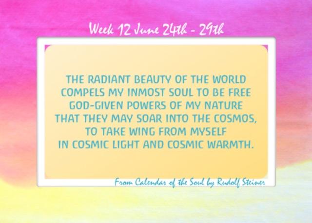 12. June 24-29 Calendar of the Soul