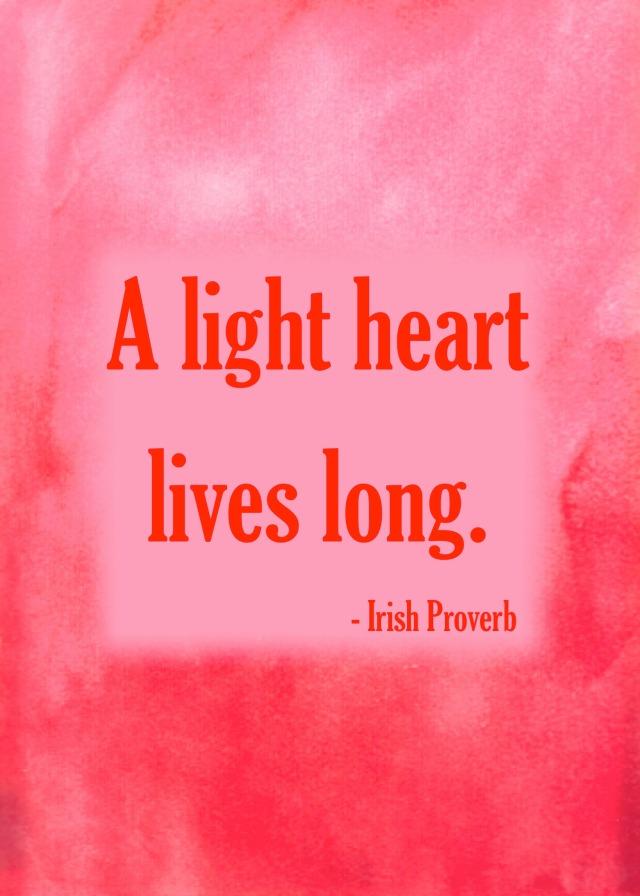 A light heart