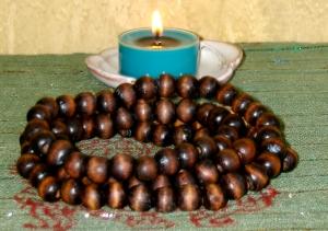 Mala Beads Candle